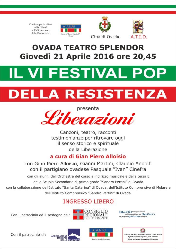 VI Festival Pop della Resistenza