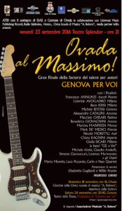 Ovada al Massimo @ Teatro Splendor - Ovada (AL) | Ovada | Piemonte | Italia