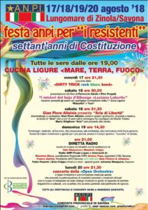 Gian Piero Alloisio presenta Aria di libertà @ Lungomare di Zinola (SV) | Zinola | Liguria | Italia