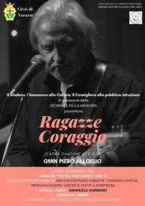 Gian Piero Alloisio in Ragazze Coraggio (per studenti) @ Teatro Don Bosco - Varazze (SV) | Varazze | Liguria | Italia