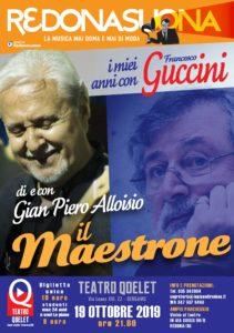 """Gian Piero Alloisio - """"Il Maestrone: i miei anni con Francesco Guccini"""" - Bergamo @ Teatro Qoelet - Bergamo"""